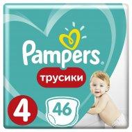 Трусики «Pampers» Pants 9-15 кг , размер 4, 46 шт.