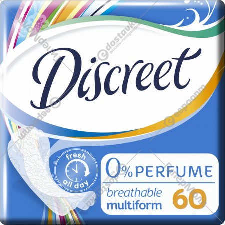Прокладки женские «Discreet» Air MultiformTrio, 60 шт.