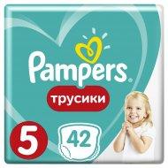 Трусики «Pampers» Pants 12-17 кг, размер 5, 42 шт.