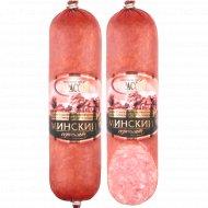 Колбаса салями варено-копчёная «Минский сервелат» высшего сорта 1 кг., фасовка 0.5-0.6 кг
