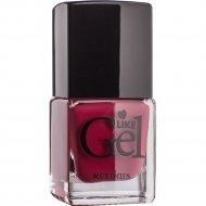 Лак для ногтей «Like Gel» тон 11, дикая орхидея, 6 мл.