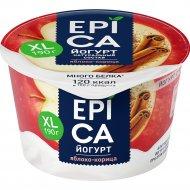 Йогурт «Epica» яблоко и корица, 4.8%, 190 г