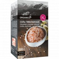 Соль пищевая гималайская «Organico» розовая, помол №3, 500 г.