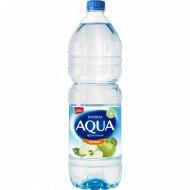 Напиток «Aqua» с ароматом яблока, 1.5 л.