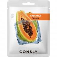 Маска для лица «Consly» Papaya, 20 мл