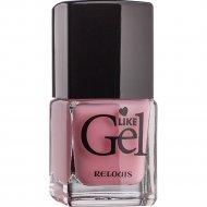 Лак для ногтей «Like Gel» тон 13, пудровая пастель, 6 мл.