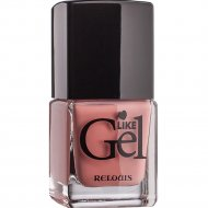 Лак для ногтей «Like Gel» тон 14, клубничное мороженое, 6 мл.
