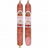 Колбаса сырокопчёная «Невская» в/с, 1 кг., фасовка 0.4-0.45 кг