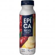 Йогурт питьевой «Epica» вишня и банан, 2.5%, 290 г