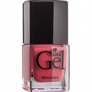 Лак для ногтей «Like Gel» тон 15, сочный персик, 6 мл.