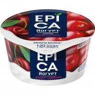 Йогурт «Epica» вишня-черешня, 4.8%, 130 г