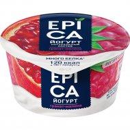 Йогурт «Epica» гранат и малина, 4.8%, 130 г