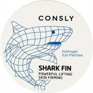 Патчи для глаз «Consly» с экстрактом акульего плавника, 60 шт.