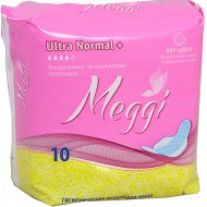 Прокладки женские «Meggi» Ultra Normal + 10 шт.