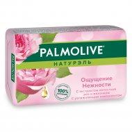 Туалетное мыло «Palmolive» с экстрактом лепестков роз и молочком,90 г.