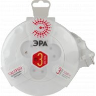 Удлинитель «Эра» UR-3-3m-W 3 гн, 3 м, 2x0.75 мм2.