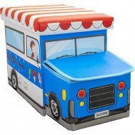 Ящик для хранения «Фея Порядка» Фургончик, FK-105, синий