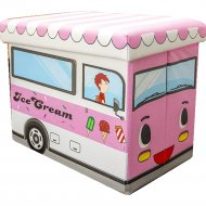 Ящик для хранения «Фея Порядка» Айскрим, FK-106, розовый