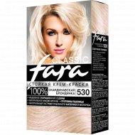 Краска «Fara» №530, скандинавская блондинка.