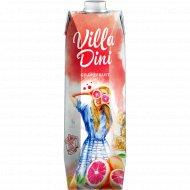 Сок «Villa Dini» грейпфрутовый, 1 л.