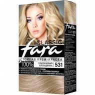 Крем-краска для волос «Fara Natural Color» тон 324, темный рубин.