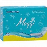 Гигиенические тампоны «Мэгги» Super с аппликатором 10 шт.