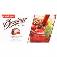 Десерт «Bonjour Konti» со вкусом глинтвейн с малиной, 232 г.