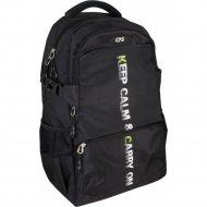 Рюкзак молодёжный черный 46*30*16 см.