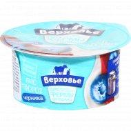 Биотворог «Верховье» черника 4.2 %, 140 г.