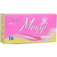 Тампоны гигиенические Meggi Normal-16 шт.