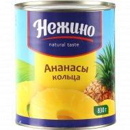Ананасы кольца «Нежино» 830 г.