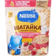 Каша «Nestle» молочная, 5 злаков, яблоко/земляника/малина, 220 г