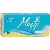 Тампоны Meggi Super.