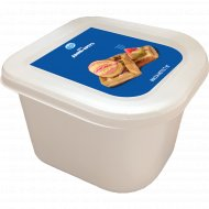 Мороженое «Мороз продукт» со вкусом дыни и прослойкой щербета, 1 кг.