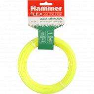 Леска триммерная «Hammer», витой квадрат 2.0 мм x 15 м.