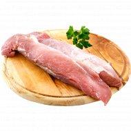 Вырезка свиная, охлажденная, 1 кг., фасовка 0.75-0.85 кг