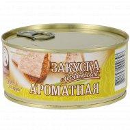 Консервы мясные «Мяскон» закуска ароматная, 290 г.