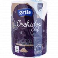 Полотенца бумажные «Grite Orchidea» Gold Chef, 1 рулон.