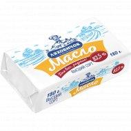 Масло сладкосливочное «Ляховичок» несоленое, 82.5%, 180 г