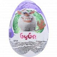 Яйцо шоколадное «Буба» с сюрпризом, 20 г