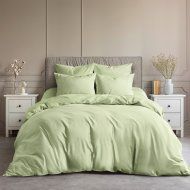 Комплект постельного белья «Ночь нежна» Авокадо, Евро, 50x70