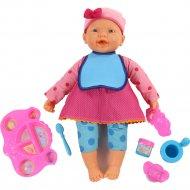 Кукла «Пупс» с набором для кормления, 48 см.