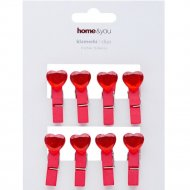 Набор декоративных прищепок «Home&You» 54453-CZE-KLAM
