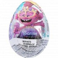 Яйцо шоколадное «Tролли» с сюрпризом, 20 г