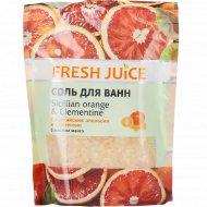 Соль для ванн «Сицилийский апельсин и мандарин» 500 мл.