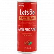 Напиток кофейный «Let's Be» американо, 240 мл.