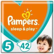 Подгузники «Pampers» Sleep & Play 11-16 кг, 5 размер, 42 шт.