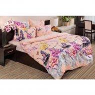 Комплект постельного белья «Ночь нежна» Журавли, двуспальный, 70x70