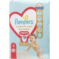Подгузники-трусики «Pampers Premium» размер 4, 9-15 кг, 38 шт.