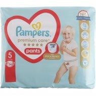 Трусики «Pampers» Premium Care Pants 12-17 кг, размер 5, 34 шт.